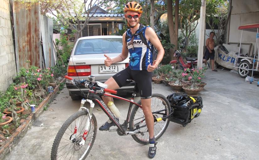 Day 1 – Hua Hin to near Thap Sakae = 170km and9hrs
