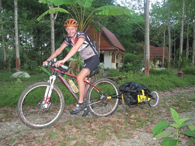Day 6 – near Mueng Phangnga to Karon Beach – 110km in5hrs